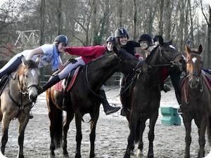 Les stages d'équitation